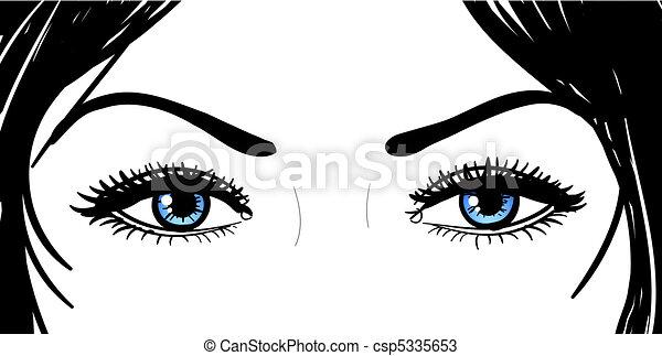 Girl Eyes Drawing Beautiful Girl Eyes Drawings