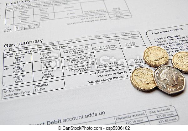 utility bill - csp5336102