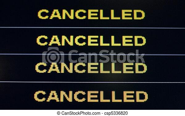Cancelled - csp5336820