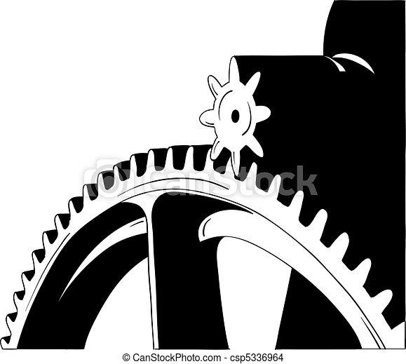 cogwheel - csp5336964