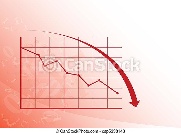 Graph down - csp5338143