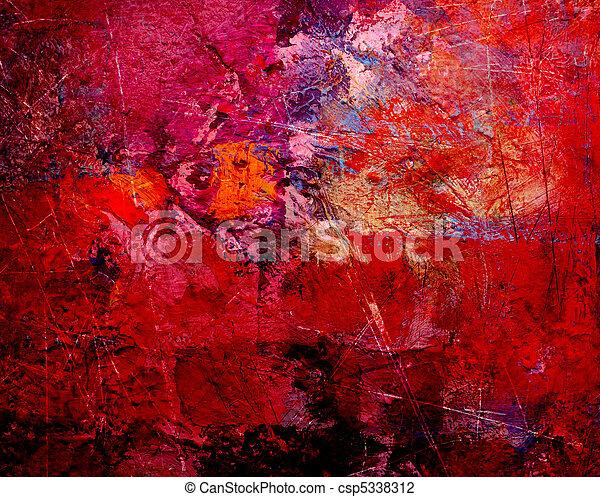 抽象的な 芸術 - csp5338312
