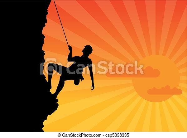 Climber - csp5338335