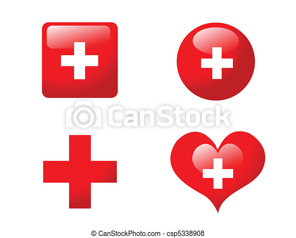 medical icons vector illustration - csp5338908