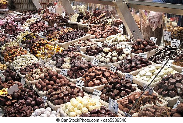 Gourmet chocolate - csp5339546