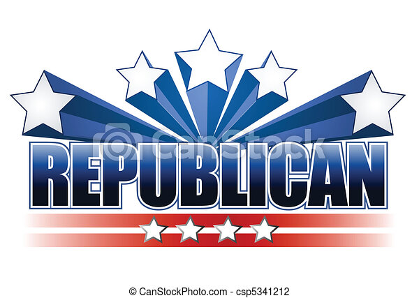 Republican sign - csp5341212