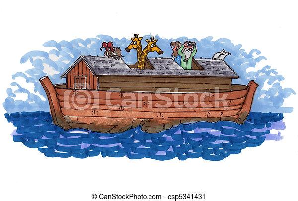 Noahs ark - csp5341431