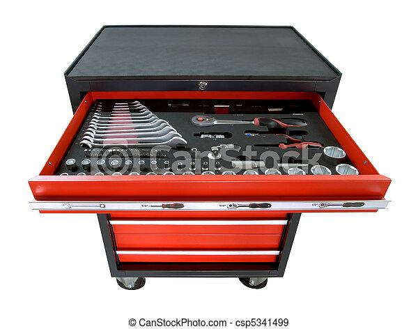 Stock de fotografos de caja de herramientas ruedas rojo - Caja herramientas con ruedas ...
