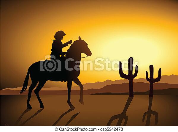 Wild Wild West - csp5342478