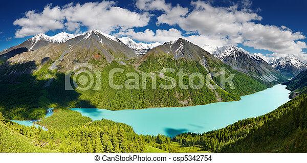Mountain lake - csp5342754