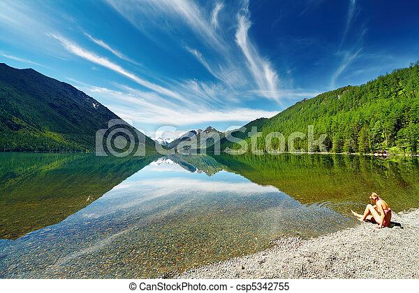 Mountain lake - csp5342755