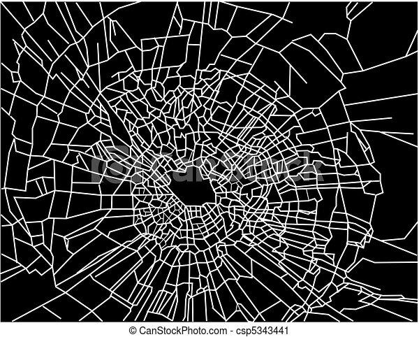 Broken window - csp5343441