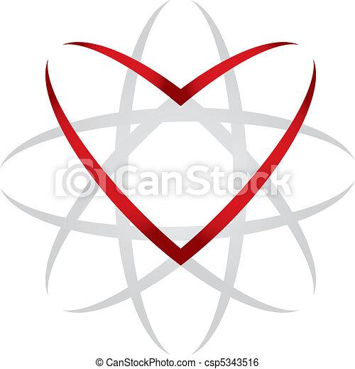 Heart universe - csp5343516