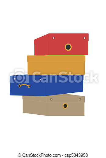 Box for footwear  - csp5343958