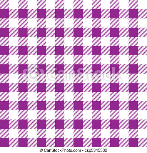 Pattern picnic tablecloth vector - csp5345582
