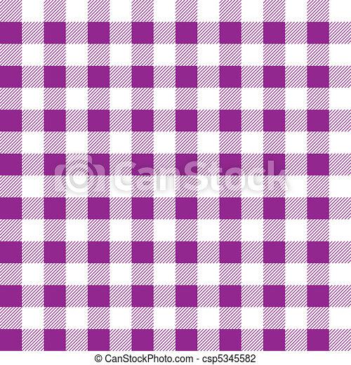 Pattern picnic tablecloth vector - csp5345582