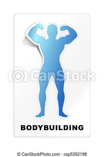 bodybuilding - csp5352198