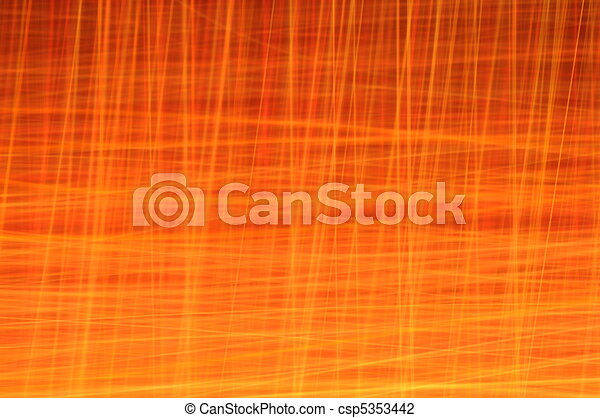 Vivid Orange Abstract Background Series - csp5353442