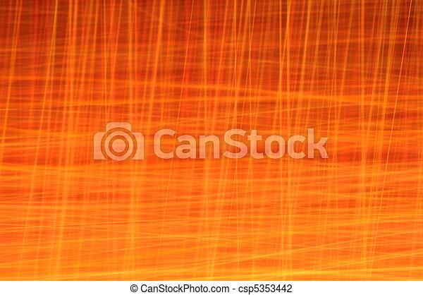 Vivid Orange Abstract Background Series - csp5353442