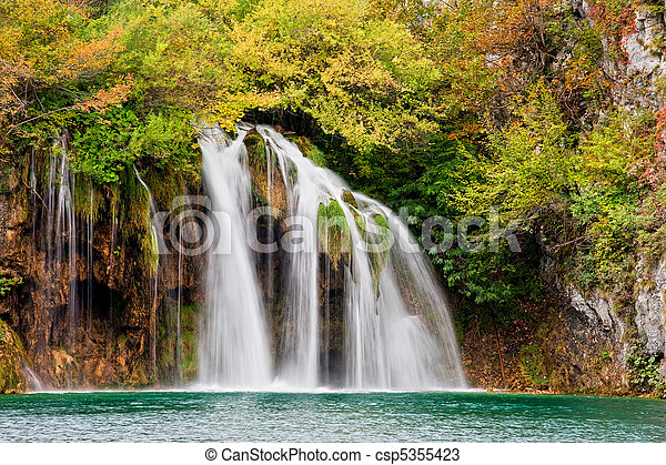 Scenic Waterfall - csp5355423