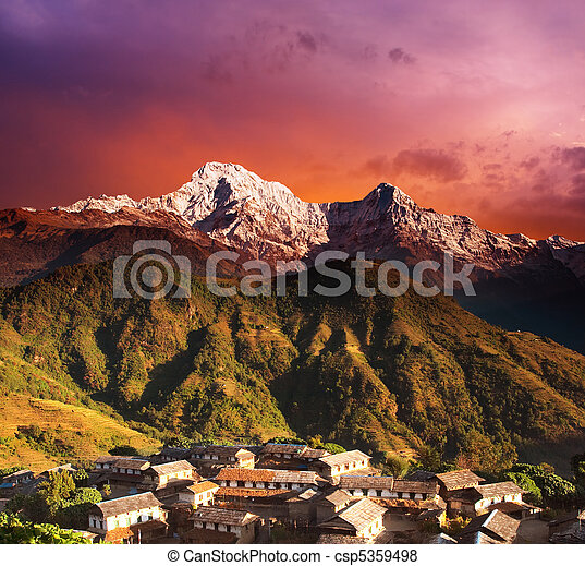Himalayan fantasy - csp5359498