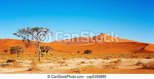Namib Desert - csp5359885