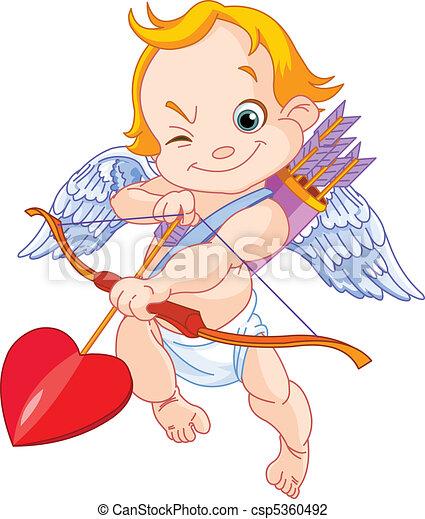 Valentine's  Cupid - csp5360492