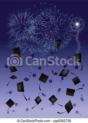 Fireworks and caps - csp5362739