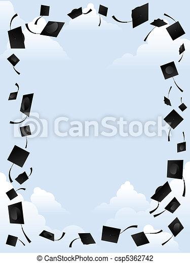 Graduation border - csp5362742