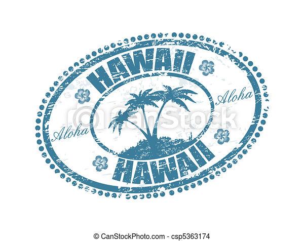 Hawaii Islands Drawing Hawaii Stamp Drawing