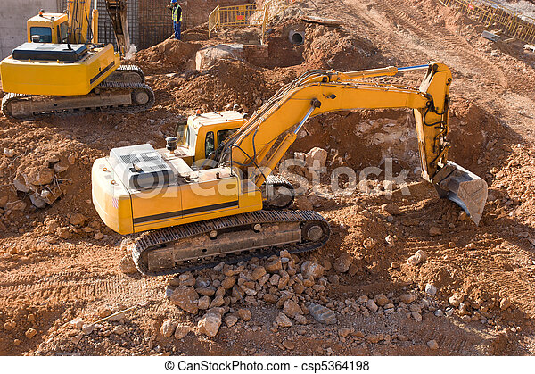 construção, local - csp5364198