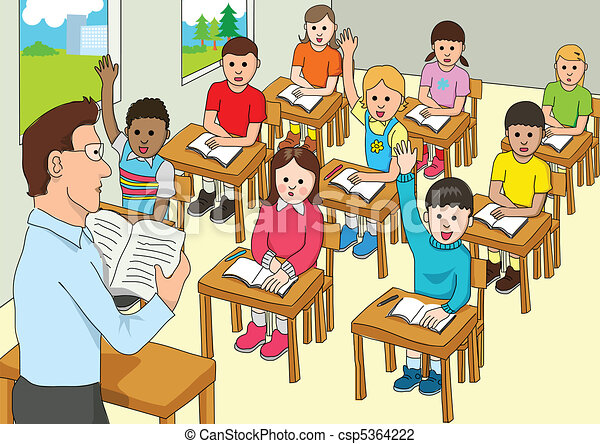 Clip Art Clipart Classroom classroom clipart and stock illustrations 32836 vector of a classroom