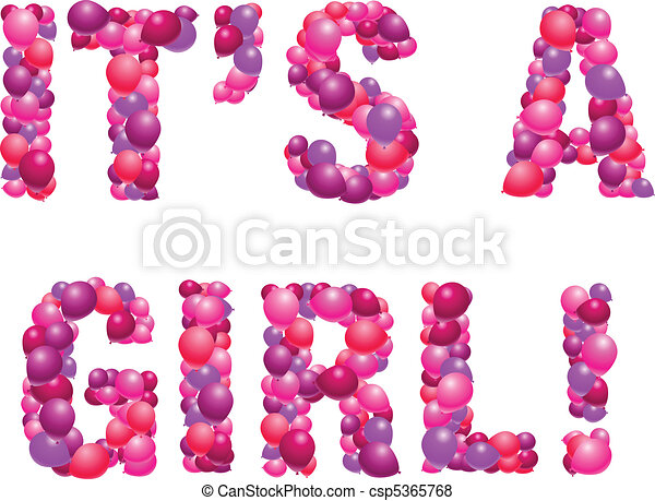 It's a girl - csp5365768