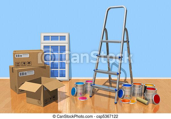 Home renovation concept - csp5367122