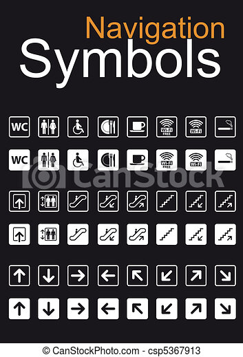 Navigation Symbols Set - csp5367913