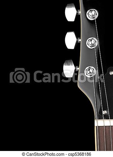 Guitar neck - csp5368186