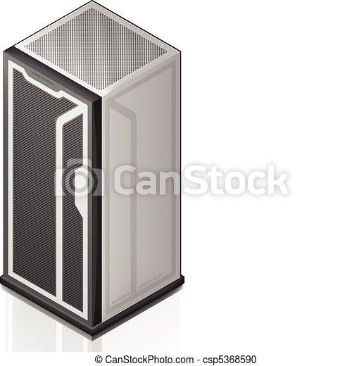 Network Server Rack - csp5368590