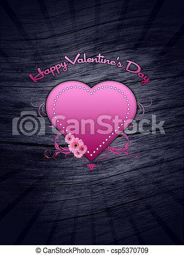 Happy Valentine's Day - csp5370709