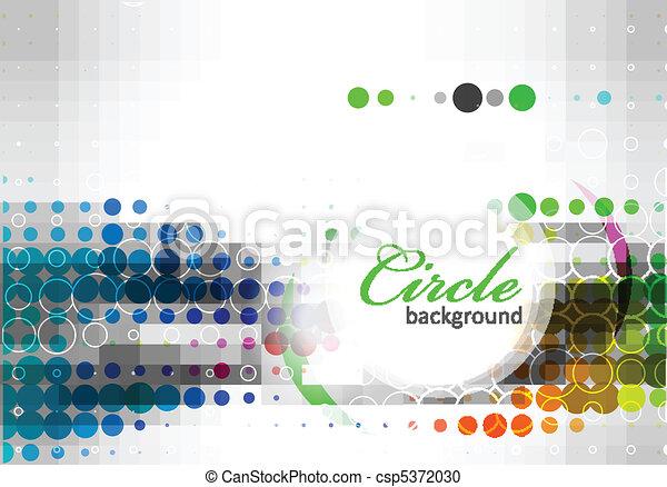 circle pattern background - csp5372030