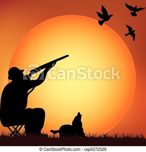 Night hunter - csp5372329