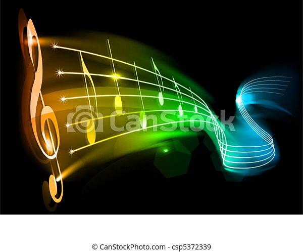 music - csp5372339