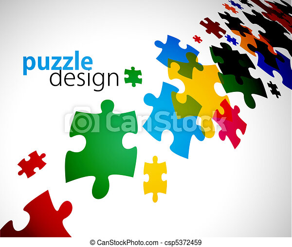 puzzle pieces - csp5372459