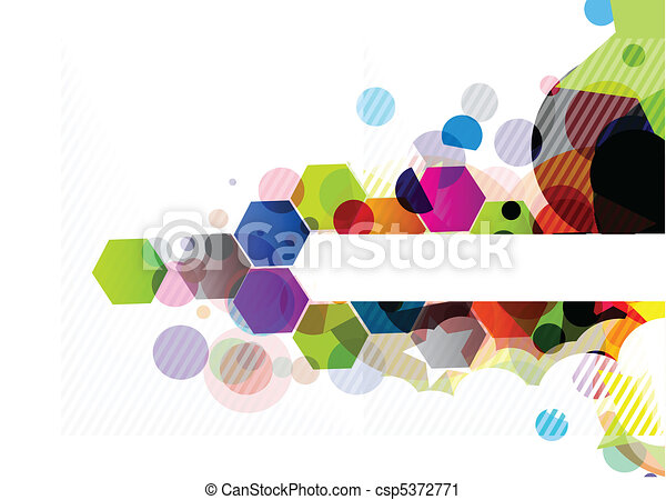 abstract colourful background - csp5372771