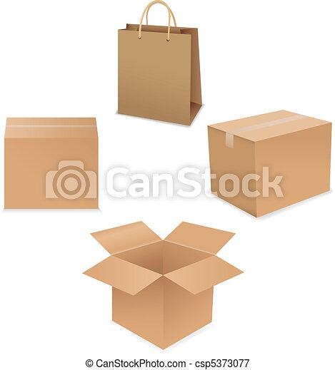 Shipping Box - csp5373077