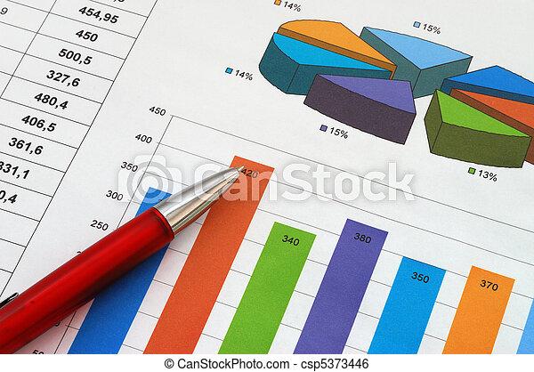 報告, 財政 - csp5373446