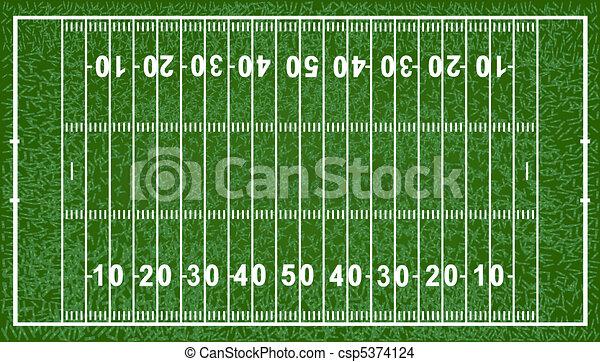 American Football Field - csp5374124