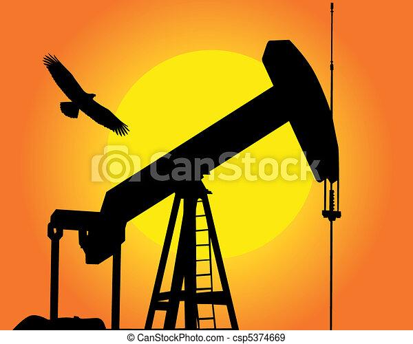 the oil pump - csp5374669