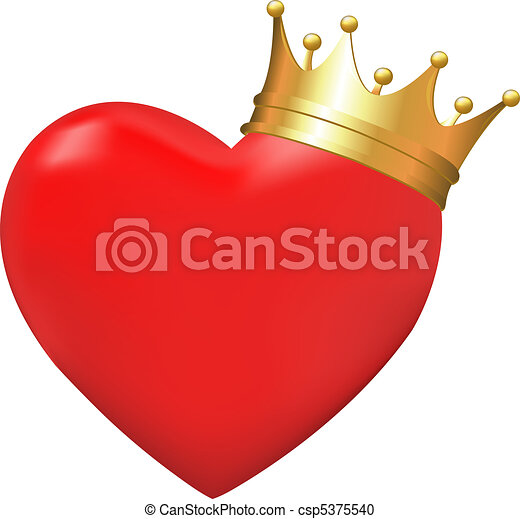 Heart crown Clipart Vector Graphics. 2,522 Heart crown EPS clip ...