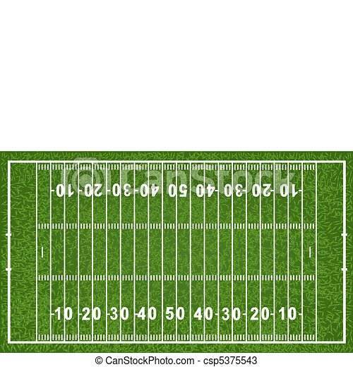American Football Field - csp5375543