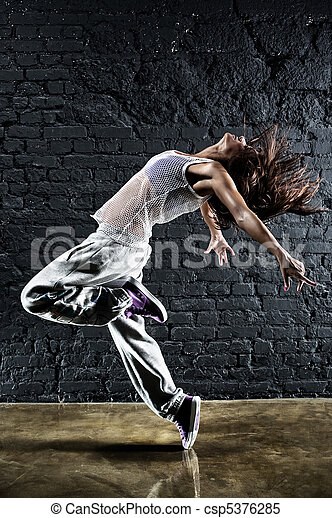 Young woman dancer - csp5376285